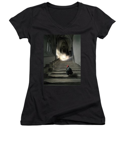12. Lord Orp Women's V-Neck