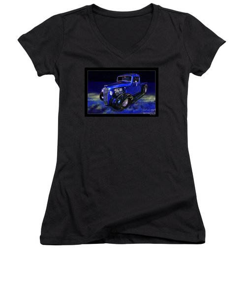 1937 Chevrolet Pickup Truck Women's V-Neck