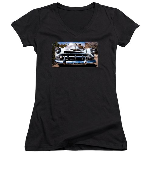 1953 Chevy Bel Air Women's V-Neck