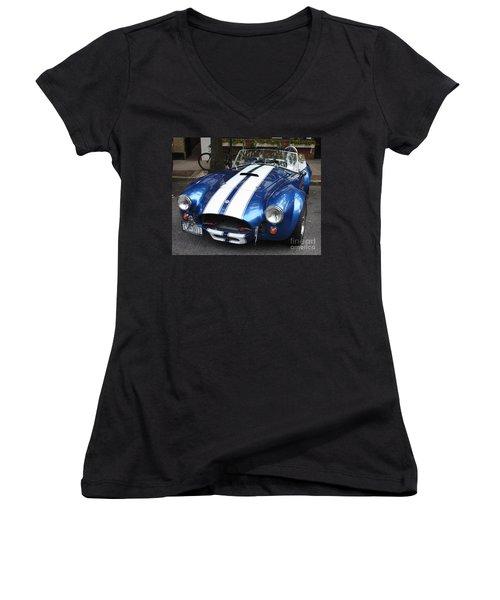 1965 Cobra Shelby Women's V-Neck T-Shirt