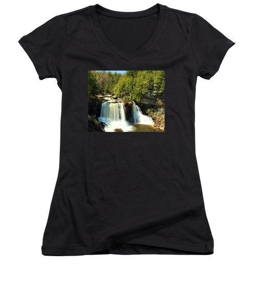 Blackwater Falls Women's V-Neck