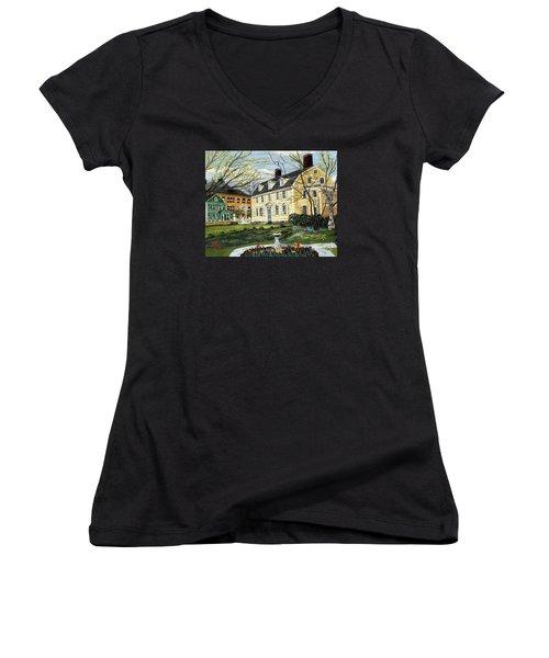 John Paul Jones House Women's V-Neck T-Shirt