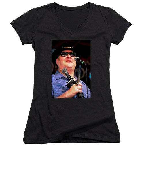 John Popper Women's V-Neck T-Shirt
