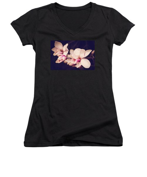 Sweet Magnolia Women's V-Neck T-Shirt