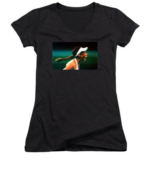 Venus Williams Women's V-Neck T-Shirt