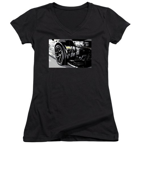 2014 Chevrolet Camaro Z28 Xl Women's V-Neck T-Shirt