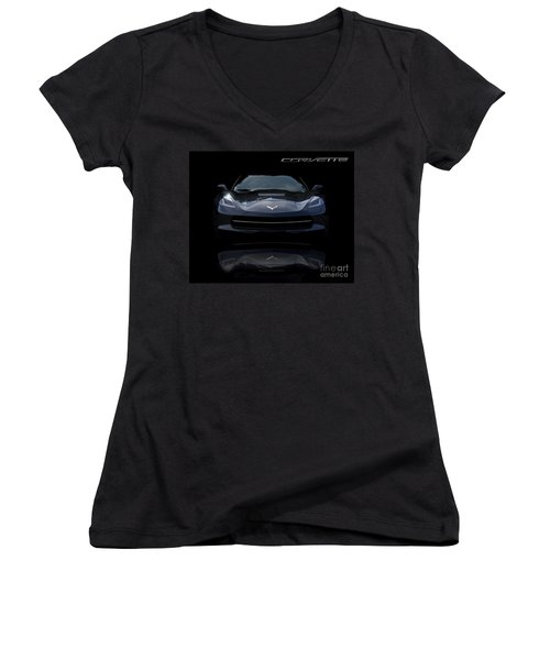 2014 Corvette Stingray Women's V-Neck