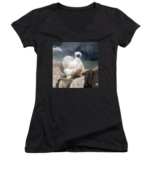 21. Silkie Akropolis Women's V-Neck (Athletic Fit)