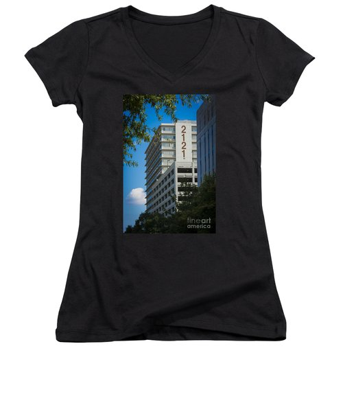 2121 Building Women's V-Neck