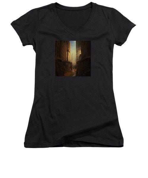 2146 Women's V-Neck T-Shirt (Junior Cut)