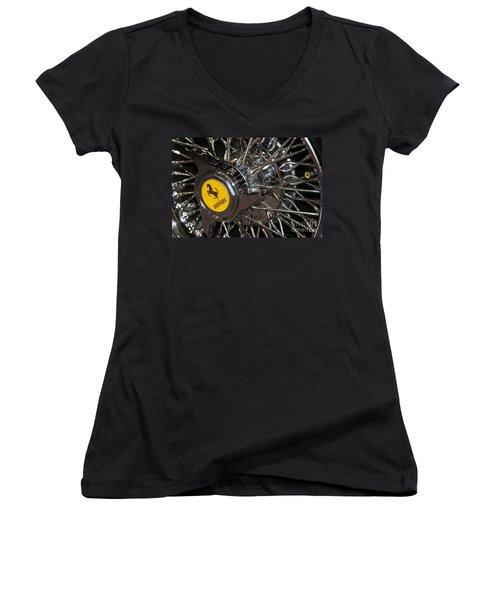 250 Wheel Women's V-Neck T-Shirt
