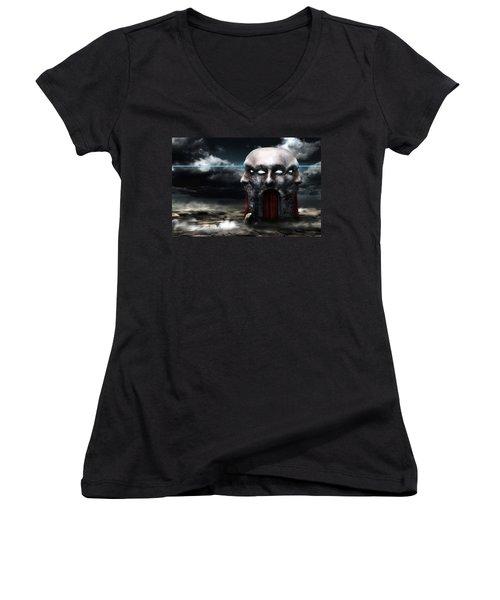 Veil Women's V-Neck T-Shirt