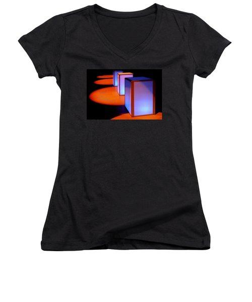 3 And 4 Women's V-Neck T-Shirt (Junior Cut) by David Pantuso