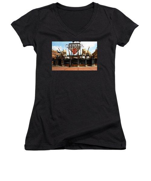 Comerica Park - Detroit Tigers Women's V-Neck