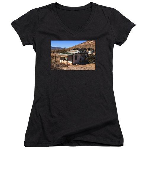Death Valley Women's V-Neck T-Shirt