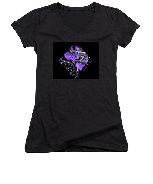 Diamond 206 Women's V-Neck T-Shirt