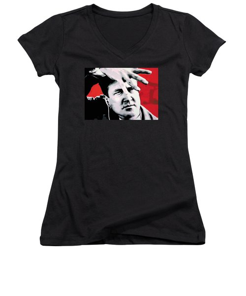 Lil . . She's My Mothers Sister's Girl Women's V-Neck (Athletic Fit)