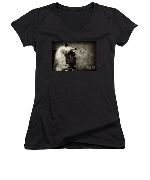 4 - Feathers Women's V-Neck T-Shirt (Junior Cut) by Paul W Faust -  Impressions of Light