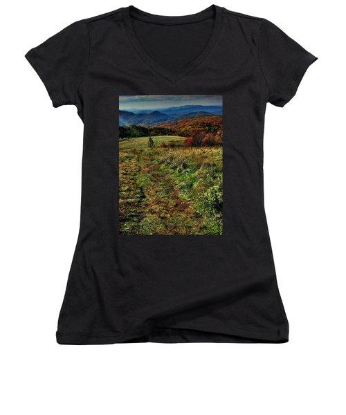 Max Patch Women's V-Neck T-Shirt