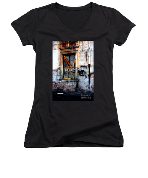Untitled Women's V-Neck T-Shirt