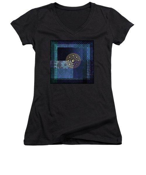 Islamic Motives Women's V-Neck T-Shirt (Junior Cut)