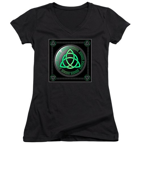 Triquetra Women's V-Neck (Athletic Fit)