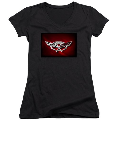50th Anniversary Women's V-Neck T-Shirt (Junior Cut) by Douglas Pittman