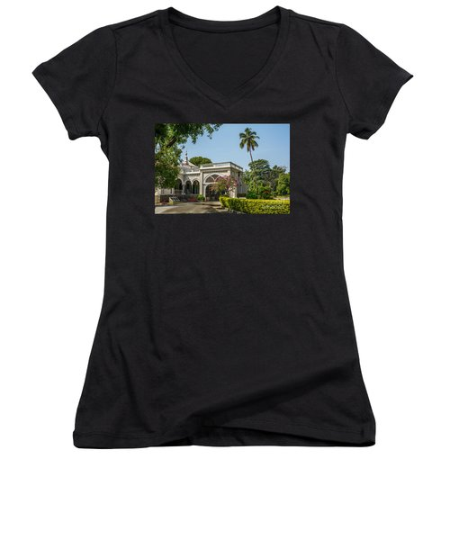 The Aga Khan Palace Women's V-Neck (Athletic Fit)