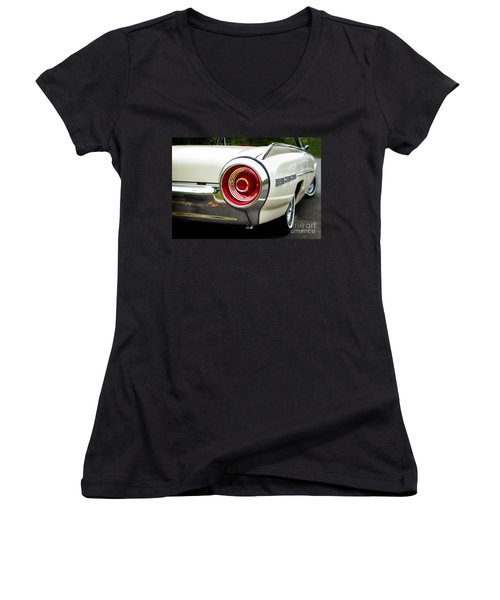 62 Thunderbird Tail Light Women's V-Neck (Athletic Fit)