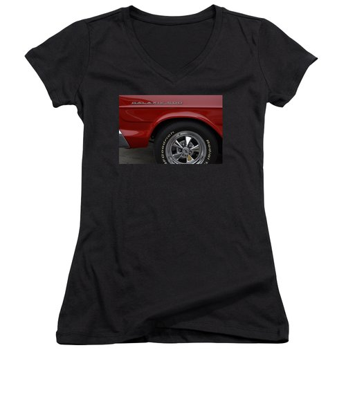 '67 Galaxie 500 Women's V-Neck T-Shirt