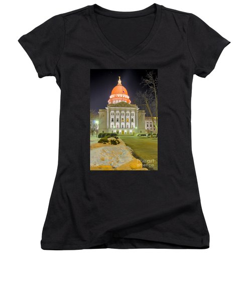 Madison Capitol Women's V-Neck (Athletic Fit)
