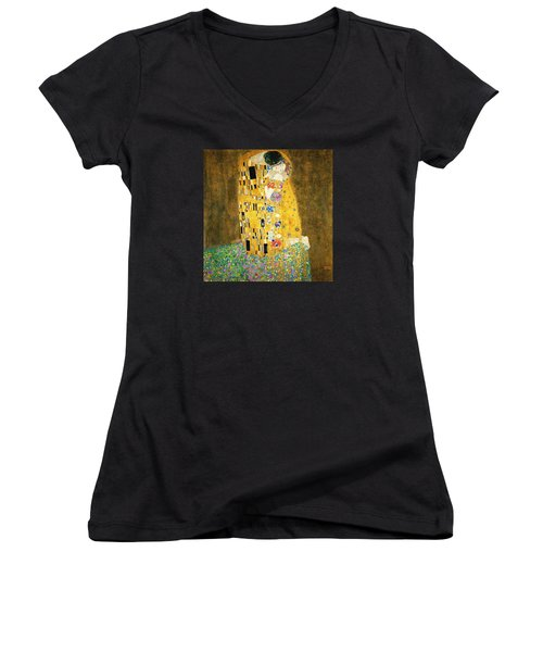 The Kiss Women's V-Neck T-Shirt