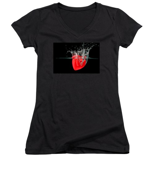 Heart Women's V-Neck