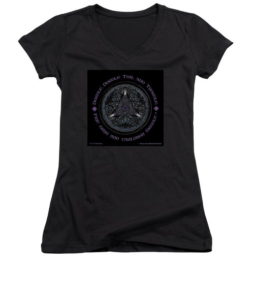 A Celtic Witches' Brew Women's V-Neck (Athletic Fit)