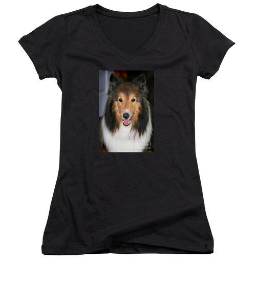 A Dog Named Beau Women's V-Neck