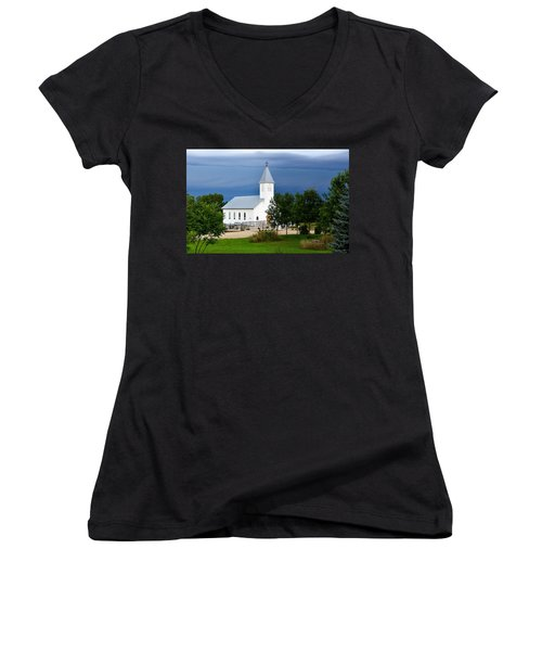 A Moment Of Peace Women's V-Neck