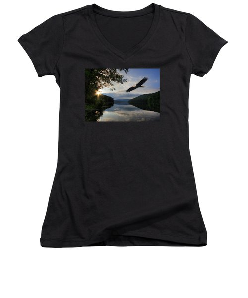 A New Beginning Women's V-Neck (Athletic Fit)