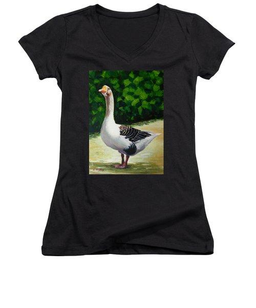 A Noble Women's V-Neck T-Shirt