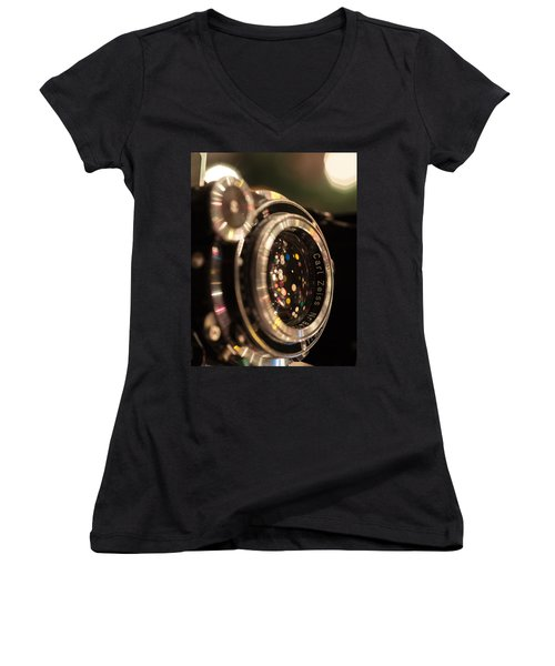 A Zeiss Christmas Women's V-Neck T-Shirt