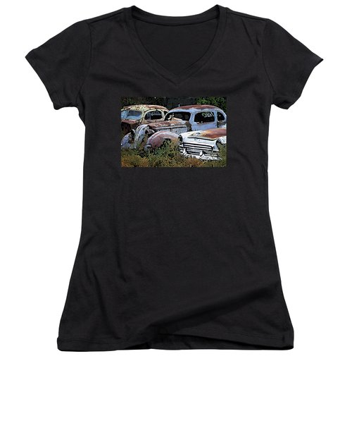 Abandoned Row Women's V-Neck