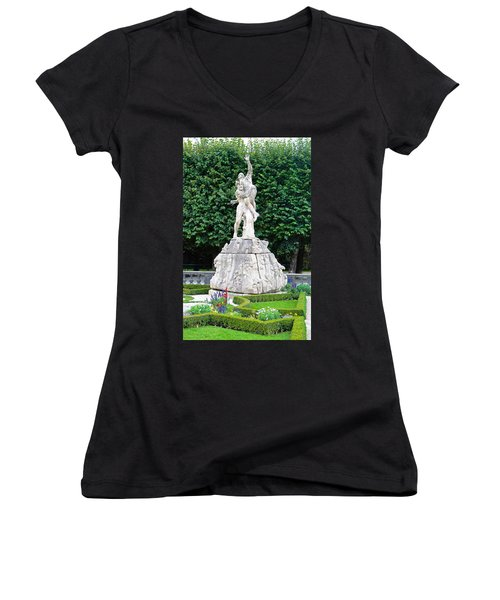 Abduction Of Persephone Women's V-Neck T-Shirt