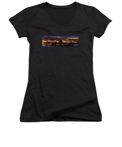 Aberdeen Skyline Women's V-Neck T-Shirt