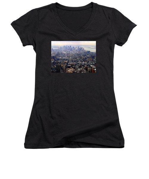 Above New York Women's V-Neck