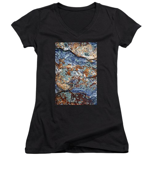 Abstract Nature Women's V-Neck