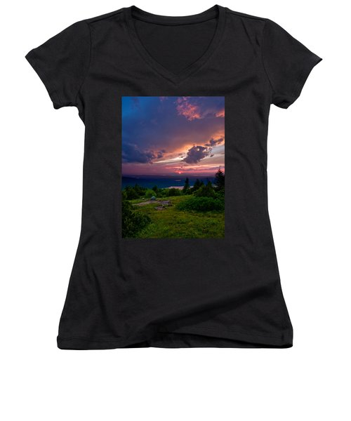 Acadia Sunset 47150 Women's V-Neck