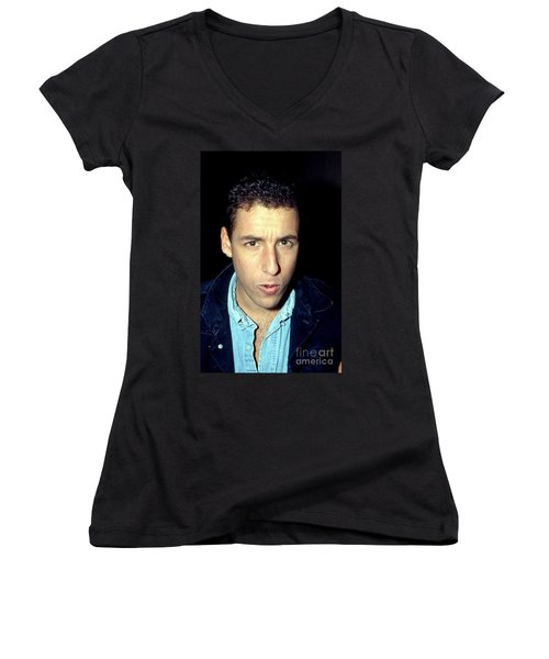 Adam Sandler 1991 Women's V-Neck T-Shirt