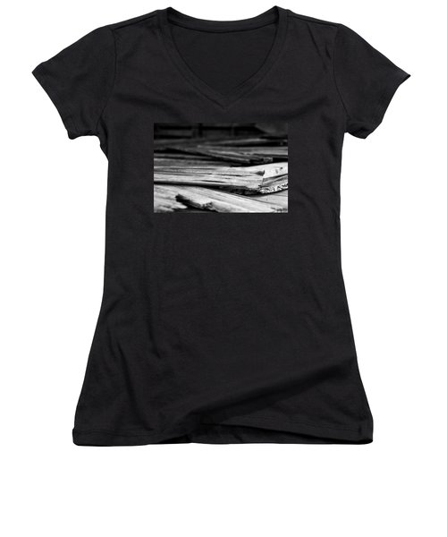 Against The Grain Women's V-Neck