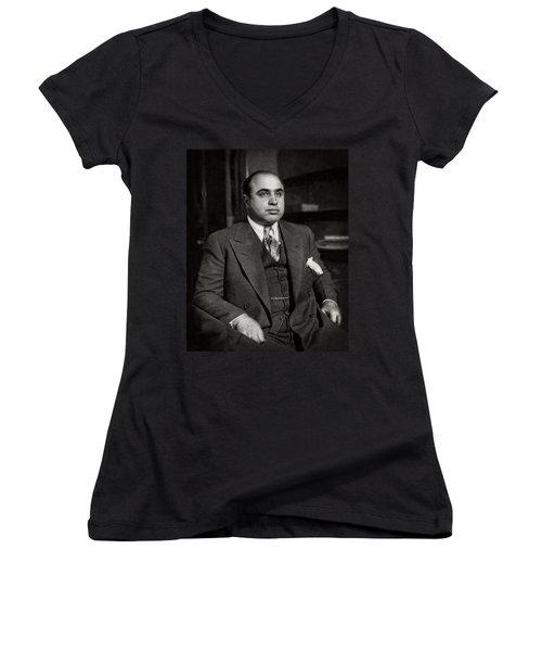 Al Capone - Scarface Women's V-Neck
