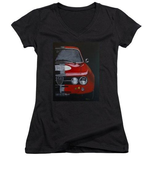 Alfa Romeo Gtv  Women's V-Neck