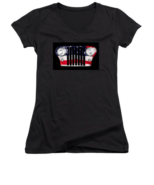 All-american Women's V-Neck (Athletic Fit)